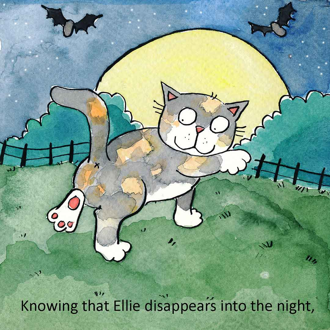 Ellie - from 'Our Cat Family' by Katy Dynes